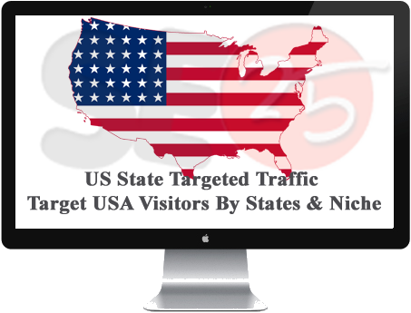 Buy US. State Targeted Traffic Target U.S.A. Visitors By States & Niche